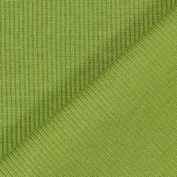 Bordure tricotée – olive clair