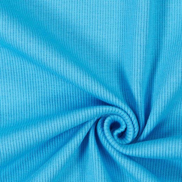 Bordure tricotée – turquoise