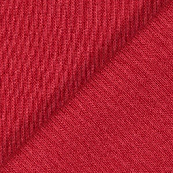 Bordure tricotée – carmin