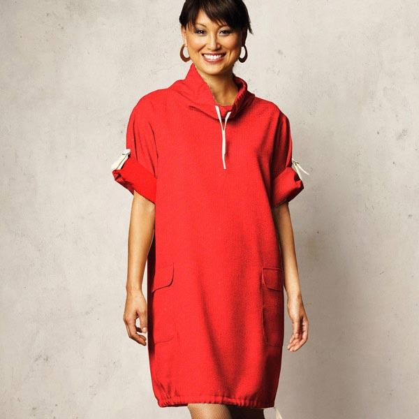 Soft Sweater – rouge vif