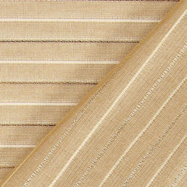 Tissu de décoration des bandes discret – beige