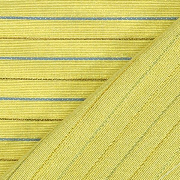 Tissu de décoration des bandes discret – jaune