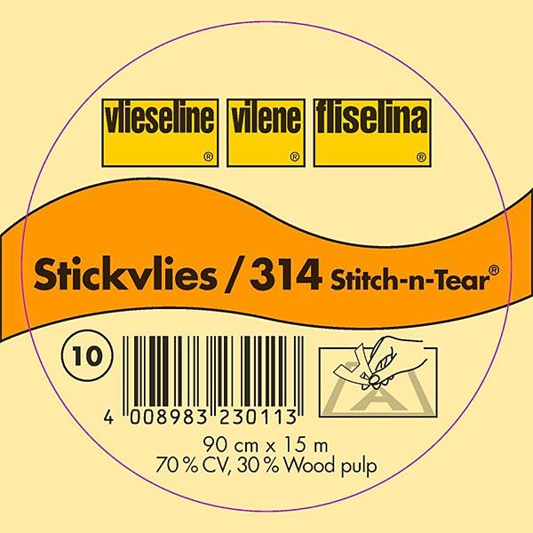 Stickvlies - weiss | Vlieseline