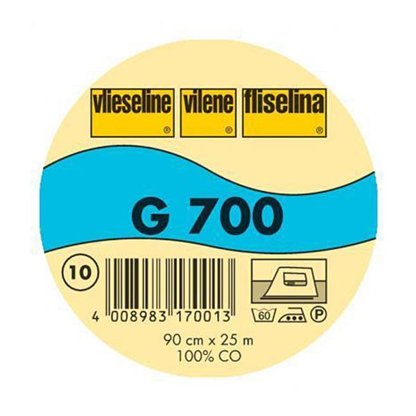G 700 Gewebeeinlage - schwarz | Vlieseline