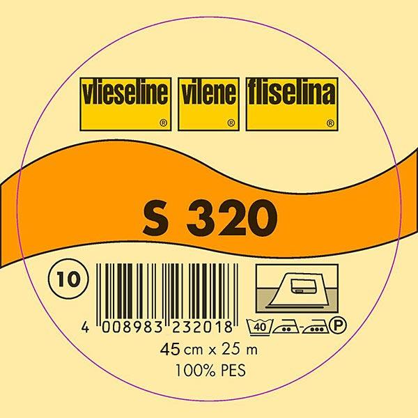 S 320 Schabrackeneinlage - weiss | Vlieseline