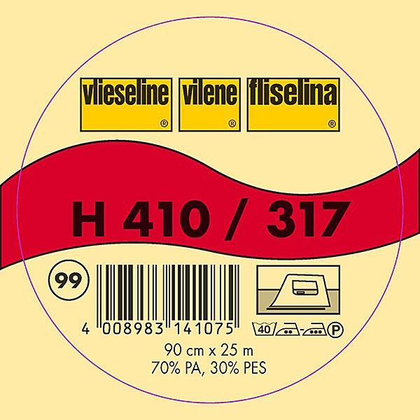 H 410 Bügeleinlage - grau   Vlieseline