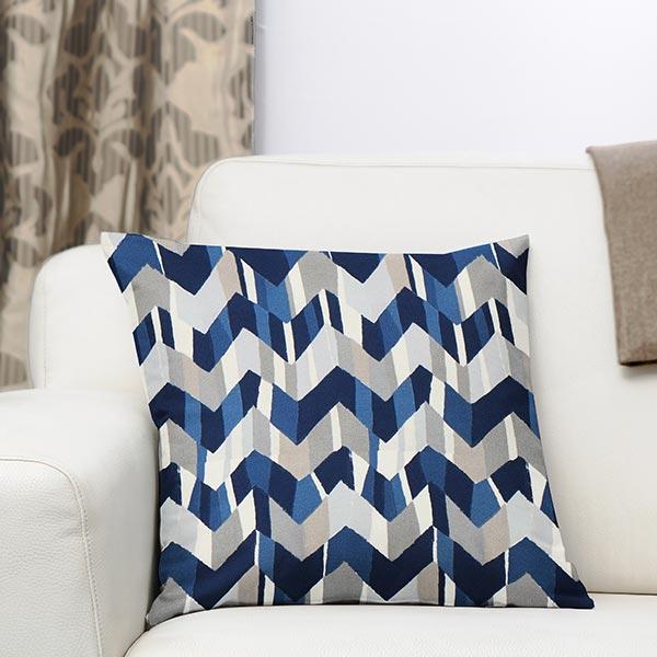 Tissu de décoration d'extérieur Acrisol Flash – bleu