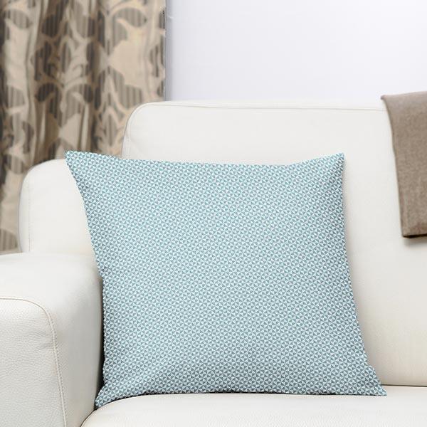 Tissu de décoration d'extérieur Acrisol Helix – turquoise