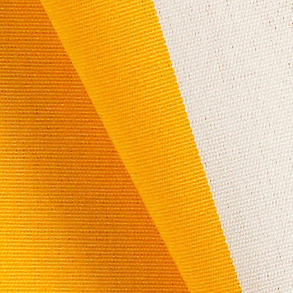 Tissu de décoration d'extérieur Acrisol Listado – écru/jaune