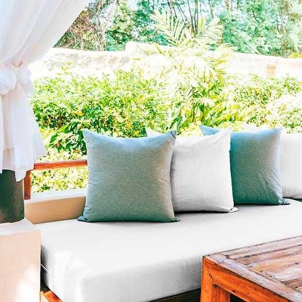 Tissu de décoration d'extérieur Acrisol Panama – écru