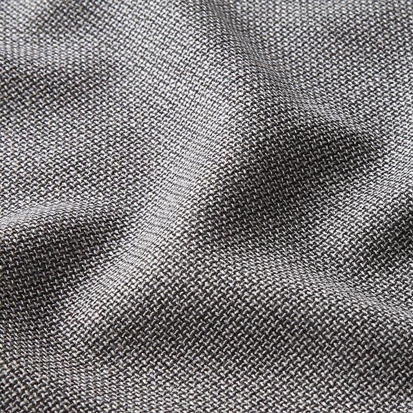 Tissu pour costume 100% laine vierge Carreaux pepita – noir/blanc
