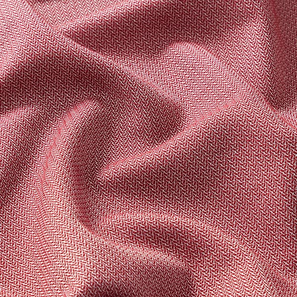 Tissu pour chemise Tissu de coton mélangé Henry – rouge bordeaux