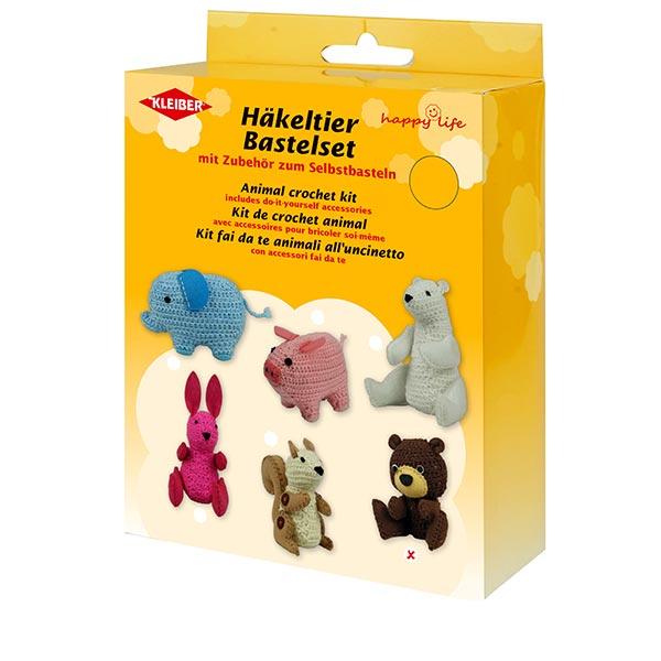Kit de bricolage Animal au crochet «Ours