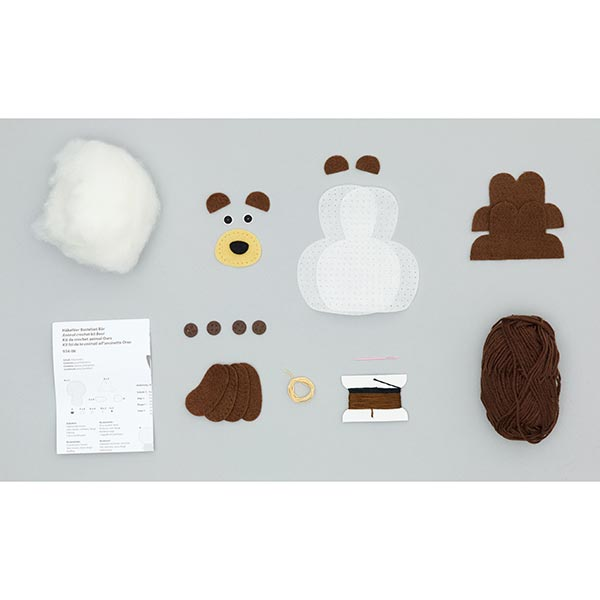 Kit de bricolage Animal au crochet «Ours» |