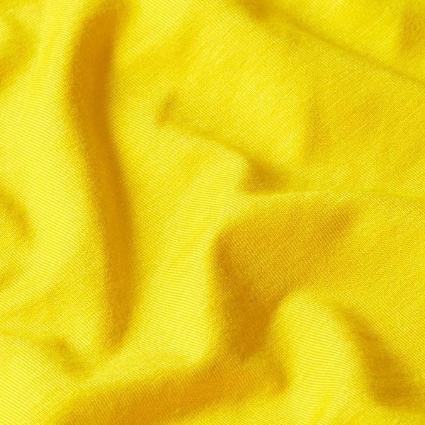 Jersey en viscose de bambou Uni – jaune soleil