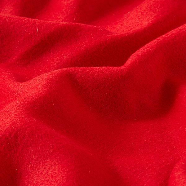 Mélange laines double face – rouge/saumon