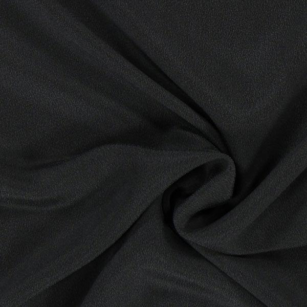 Crêpe de soie – noir