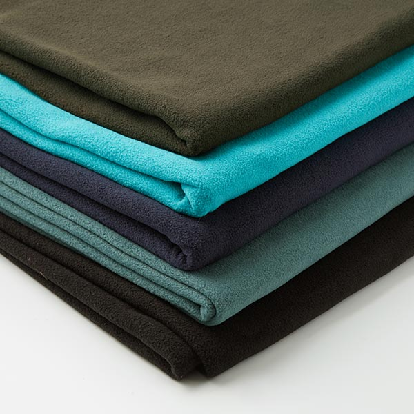 Polaire anti-boulochage stretch Premium – turquoise