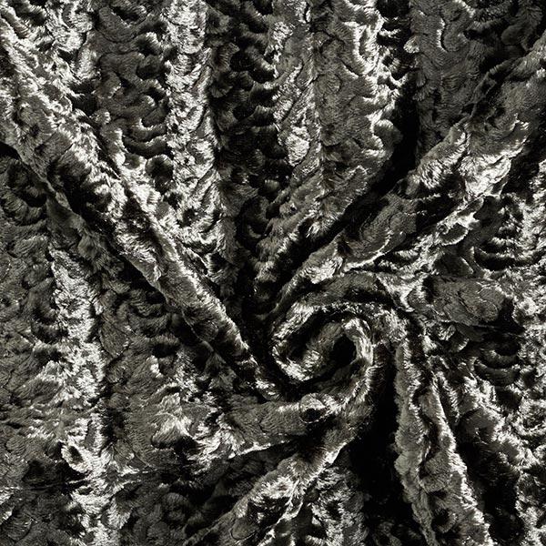 Fourrure synthétique Bouclettes krimmer – roseau