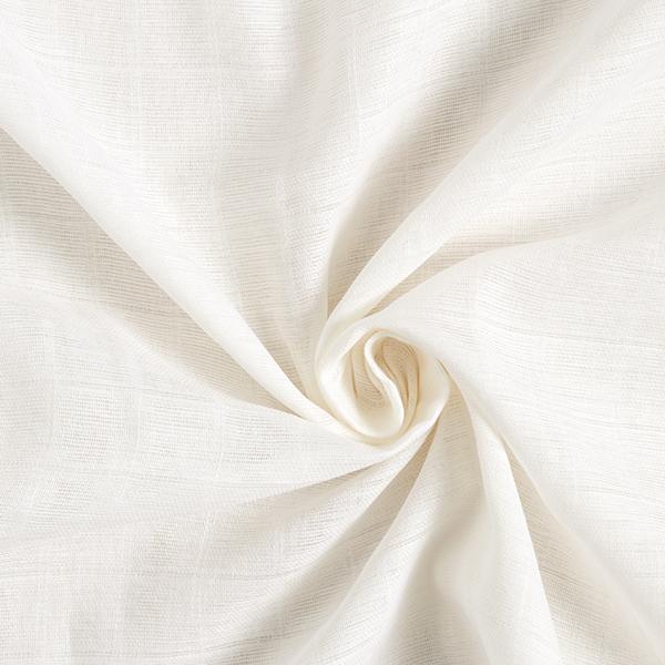Mousseline / Tissu double crêpe Été chaud – blanc