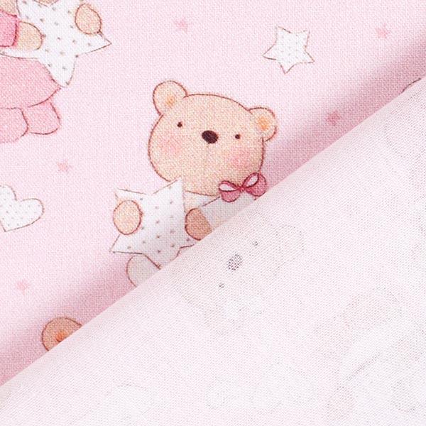 Cretonne baby bear – rose