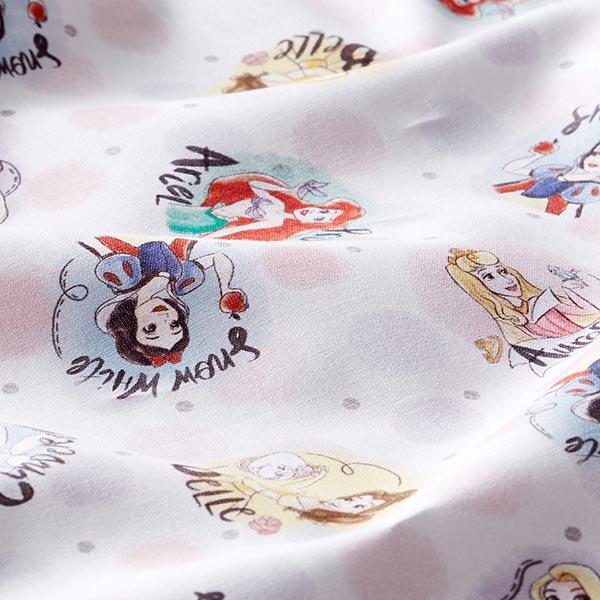 Disney cretonne Princesses de contes de fées – blanc