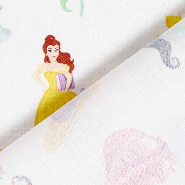 Popeline coton Princesses Disney  | Disney – blanc