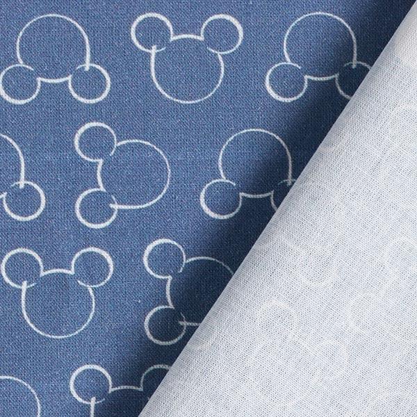 Disney cretonne Mickey Silhouette – bleu jean