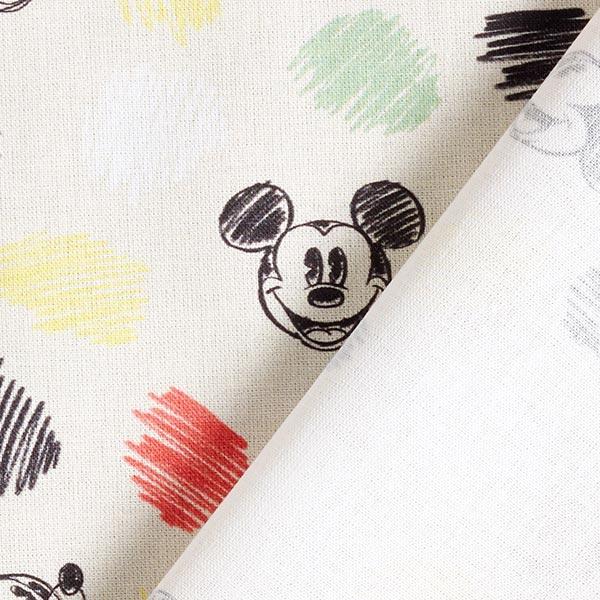 Disney cretonne Mickey Dessin – écru