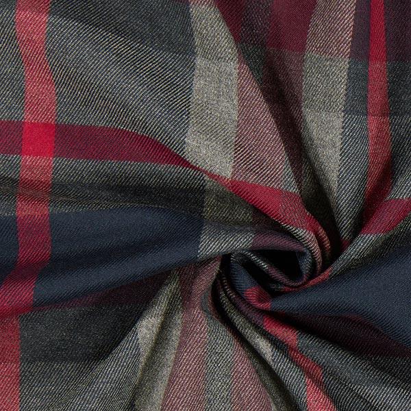 Carreau écossais Stretch – gris
