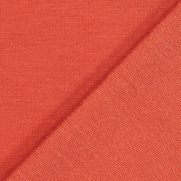 French Terry Modal – rouge rouille