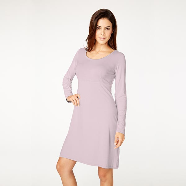 French Terry Modal – lilas pastel