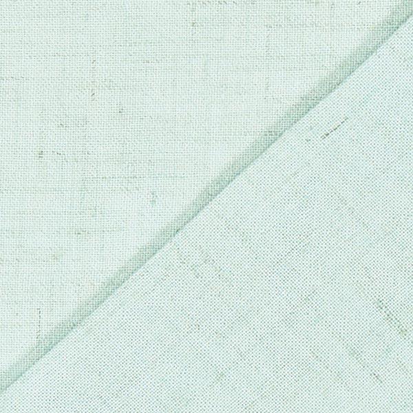 Structure lin viscose – vert menthe