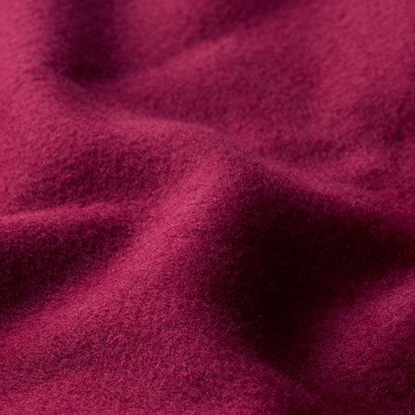 Tissu de manteau Eloy – rouge bordeaux