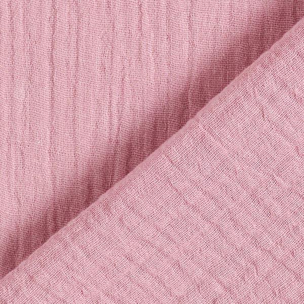 Tula Mousseline / Tissu double crêpe GOTS – violet pastel
