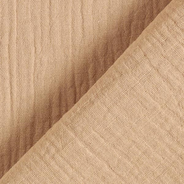 Tula Tissu double gaze de coton GOTS – beige