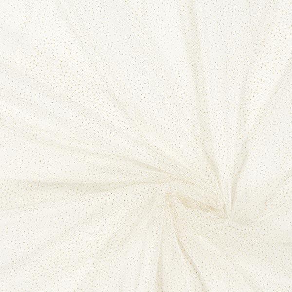 Tissu tulle scintillant – blanc