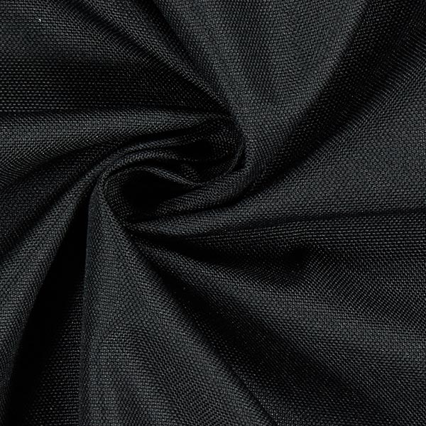 Tissu d'extérieur Uni – noir
