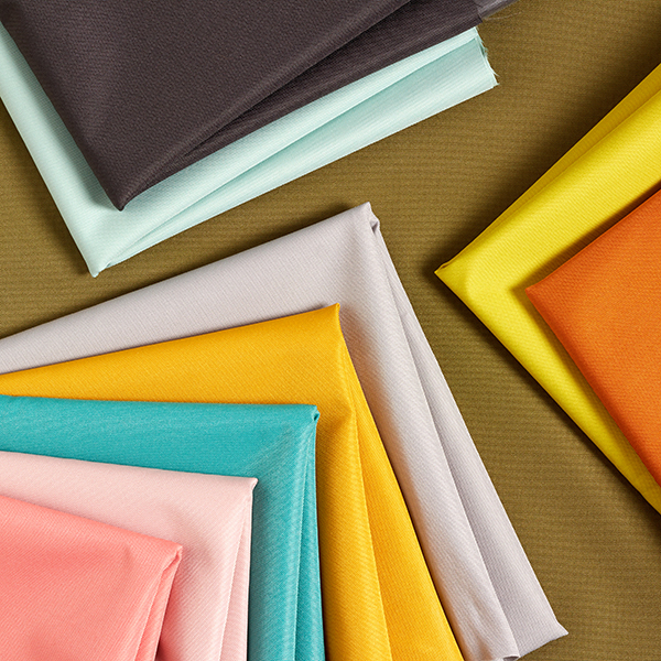 Tissu de décoration extérieur imperméable – orange
