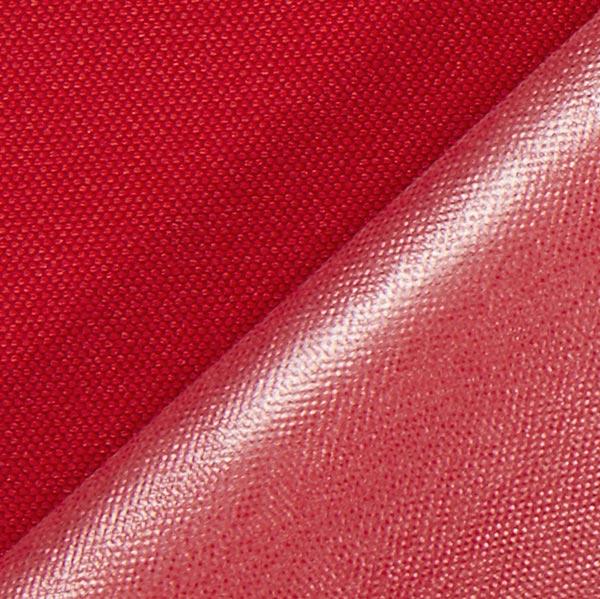 Tissu de décoration extérieur imperméable – rouge