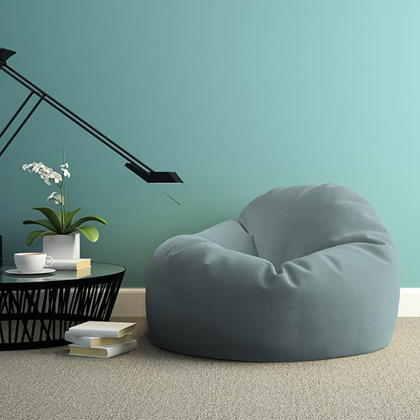 Tissu d'extérieur Uni – turquoise