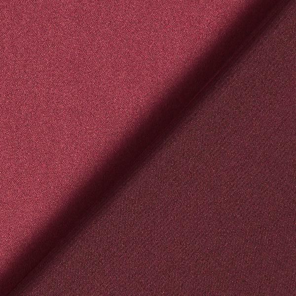Satin microfibre – rouge bordeaux