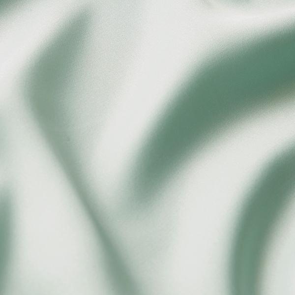 Satin microfibre – vert menthe