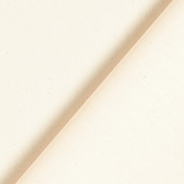 Baumwollstoff Popeline Uni – creme