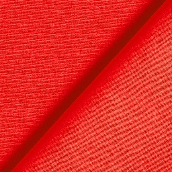 Baumwollstoff Popeline Uni – signalrot