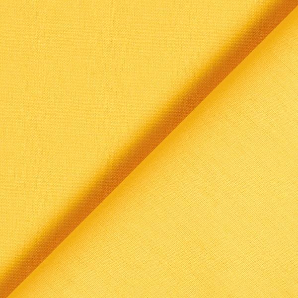 Tissu en coton Popeline Uni – jaune soleil