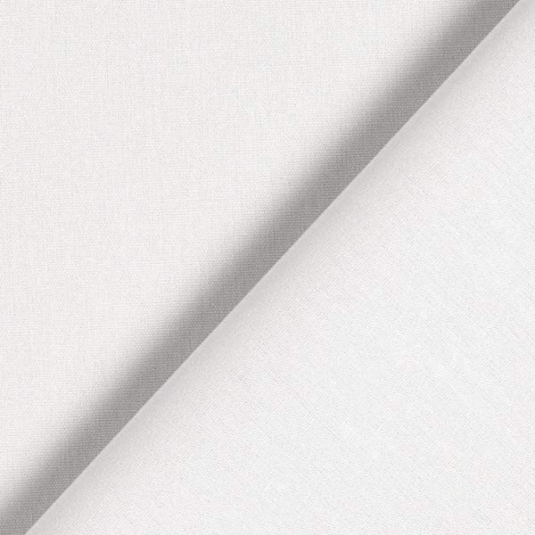 Baumwollstoff Popeline Uni – hellgrau