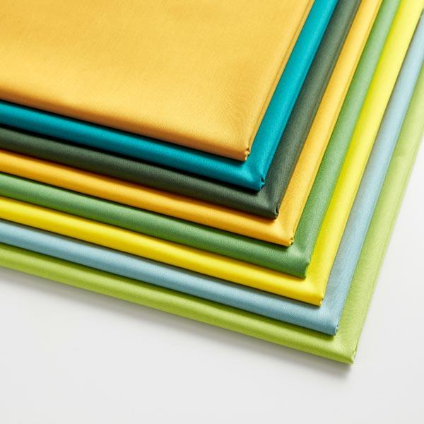 Tissu en coton Popeline Uni – vert foncé