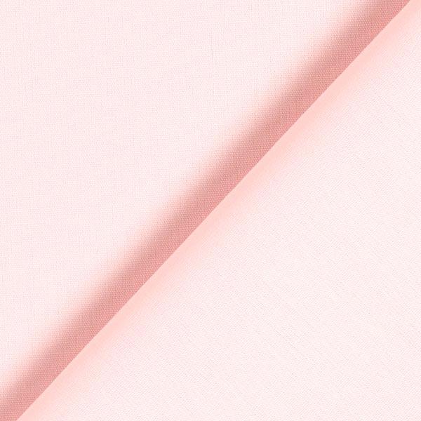 Tissu en coton Popeline Uni – rose