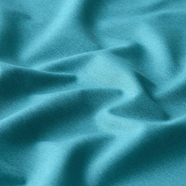 Tissu en coton Popeline Uni – pétrole